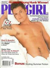 PLAYGIRL July 1999 Country star DAVID KERSH hot black guy centerfold RAY CLARK