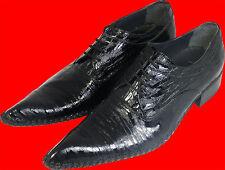 PABLO PICASSO Designer SCHIACCIATO VERO CUOIO SUOLA IN -UOMO scarpa pantofola