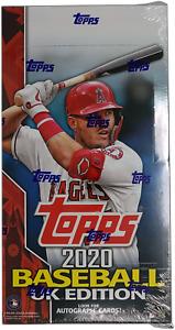 2020 Topps Baseball UK Edition HOBBY BOX Factory Sealed ~ Very Limited