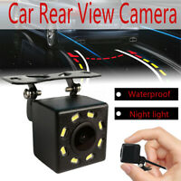 Auto Rückfahrkamera 170° CCD HD Einparkkamera 8 LED Wasserdicht IR Nachtsicht