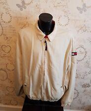"Mens Tommy Hilfiger Vintage Preppy Cotton Harrington Jacket XL 26"" pit to pit"