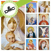 UZ-26 Cross stitch Religious Saint Pattern Ukrainian style Embroidery DMC