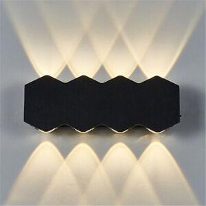 Modern Outdoor Waterproof LED Wall Lamp Bedside Light Indoor Fixture Lighting