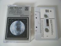 JOE WALSH YOU CAN'T ARGUE WITH A SICK MIND CASSETTE TAPE EAGLES ABC ANCHOR 1976