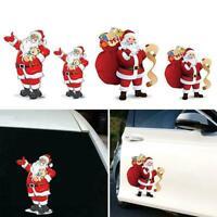 Weihnachten Heckscheiben Aufkleber Weihnachtsmann Fensteraufkleber Auto Auf C8U1