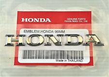 ORIGINAL HONDA -3D-PVC Emblem/Schriftzug-CHROM-9cm-Sticker-Aufkleber-Logo-