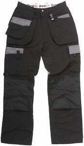 Durakit Black Work Trousers
