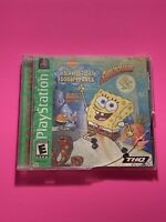 🔥PS1 PlayStation 1 PSX GAME💯COMPLETE WORKING GAME SPONGEBOB SQUAREPANTS