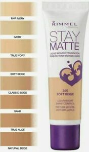 Rimmel London Stay Matte Liquid Mousse Foundation 30Ml