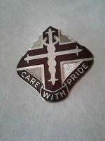 Authentic US Army Dental Ft Leonard Wood DENTAC DI DUI Crest Insignia 22M