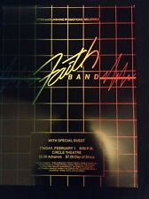 Faith Band Original Concert Poster - WFBQ & Sunshine Promotions