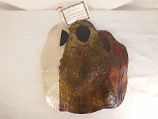 MAIDEN MOTHER CRONE STUDIO ART POTTERY WALL HANGING IRIDESCENT SIGNED BY ARTIST