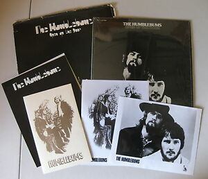 The HUMBLEBUMS Open Up The Door 1970 US PROMO LP + Press Kit GERRY RAFFERTY