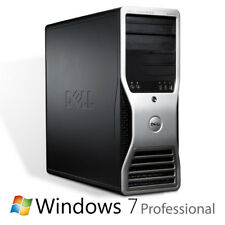 Power PC ordenador dell Precision t3400 c2q 4x 2,4ghz 4gb 160gb DVDRW win7pro64