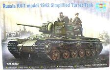 Trumpeter 00358 Russia KV-1 model 1942 Simplified Turret Tank 1:35