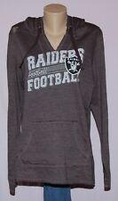 Oakland Raiders Womens Hoodie Lightweight Sweatshirt S - NFL