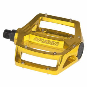 """Haro Fusion Pedals 9/16"""" Gold"""