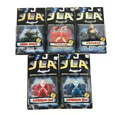 Lot of 5 Vintage 90s Justice League of America Action Figures Superman Aquaman