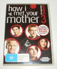DVD - How I Met Your Mother Season 3 - 3 Disc Set - REDUCED!!