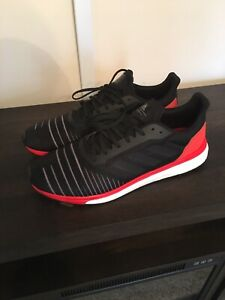 Adidas Boost Solar Drive Men's Shoes Black/Red SZ. 14