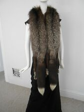 Vintage 1940's Silver Fox Fur Wrap You get 2 Full Fox Furs Head and All