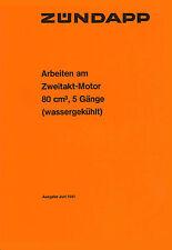 Zündapp KS 80 KS 80 Touring Motor Reparatur Anleitung Daten Zeichnung Handbuch