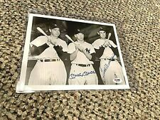 Mickey Mantle Ted Williams Signed 8x10 PSA LOA.