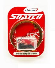 cavetto acciaio morbido da pesca 5m 10kg filo finali luccio serra spinning