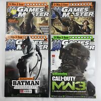 Games Master Magazine 2011 Bundle x4 Issues Oct 242 Nov 243 Dec 244 Xmas 245 VGC