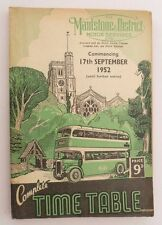 South East Booklet Public Timetables Collectables