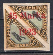ESTONIA 1923 AIR MAIL STAMP Sc. # C6 MH