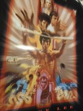 Poster Bruce Lee Enter The Dragon 25th Anniversary 1988 Promotional Promo