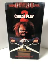 Child's Play 2 (VHS, 1991) Horror Gore MCA Killer Doll Chucky