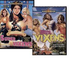 Dvd SuperVixens + Ultra-Vixens - Russ Meyer (Bollino Noleggio) ......NUOVO