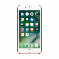 Apple iPhone 7 PLUS (5.5-inch) 256GB AT&T + GSM Phone RED - Excellent