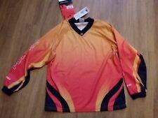 Polaris Kids Flame Red (1147) Cycling/Bike Jersey Shirt Large BNWT
