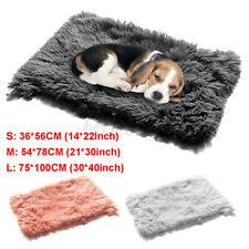 Puppy Pet Plush Blanket Dog Sleeping Mat Fluffy Blanket Winter Warm Polyester