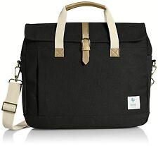 ESPEROS Baldwin Porter Brief Black Messenger Laptop Bag NEW! Water/Stain Proof