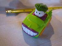 Fisher Price Little People Wheelies DC Super Friends Joker Car Figure Vehicle 1