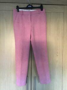 J.Crew Pink Wool Tweed Trousers - Small