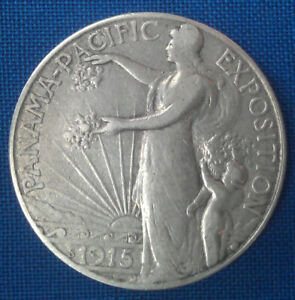 USA Half Dollar 1915 Panama - Pacific Exposition