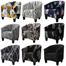 Stretch Floral Armchair Slipcover Spandex Single Sofa Chair Cover Protector New