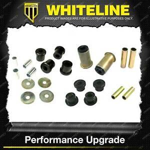 Whiteline Front Control Arm Lower Upper Bush Kit for Mitsubishi Strada Triton MK