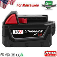 18V For Milwaukee 18-Volt M18 Lithium-Ion XC High Capacity Battery 48-11-1828 US