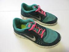 Women's NIKE 'Free Run 3' Sz 8 US Runners VGCon Green Pink   3+ Extra 10% Off
