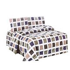 Living with Linen Queen Comforter 4-piece Set
