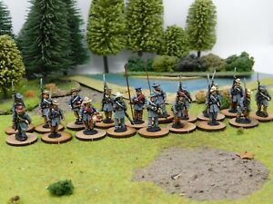 ACW CONFEDERATE INFANTRY PRO PAINTED BY EYE 28MM PERRY MINIATURES
