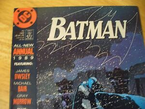 BATMAN 1989 ANNUAL #13-DC (9.4 NM) XTREME HI GRADE-SUPERIOR COMIC-GLOSSY & TIGHT