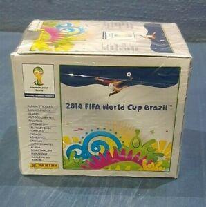 PANINI 2014 FIFA World Cup Brazil *Box of 50 packs