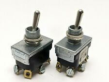Mcgill 0121 0002 Toggle Switch 3 Position 15a 34 Hp Lot Of 2